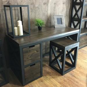 Стол со стулом металлические комнатные