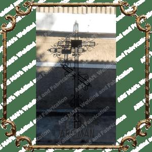 Металлические ритуальные кресты изготовление на заказ в Алматы