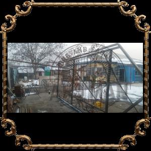 Металлические ворота изготовление на заказ в Алматы