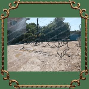 Металлические оградки изготовление на заказ в Алматы