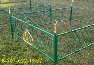Мусульманские оградки в Алматы на заказ