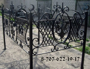 Красивая мусульманская оградка изготовление