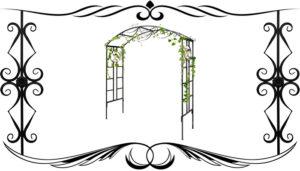 Металлические кованные свадебные арки изготовление на заказ в Алматы