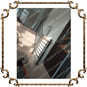 Кованные металлические перила изготовление в Алматы на заказ