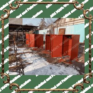 Ящики металлические изготовление в Алматы на заказ