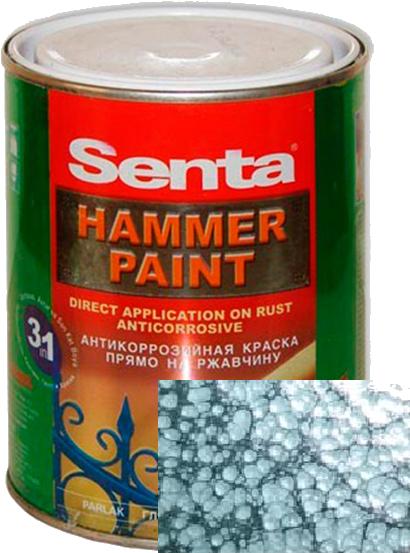 Молотковая краска Senta HAMMER PAINT верде