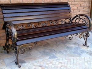 Изготовление кованных скамеек на заказ в Алматы