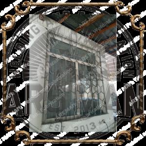 Изготовление металлических решеток на окна в алматы