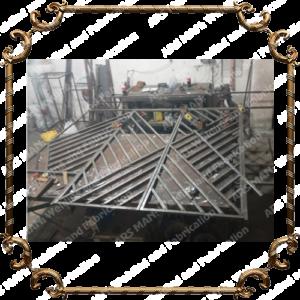 Ворота и калитки изготовление под заказ в алматы